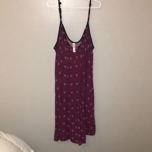 flowy mini dress from target